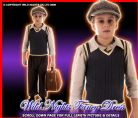 FANCY DRESS COSTUME 1940'S EVACUEE BOY LG AGE 10-12